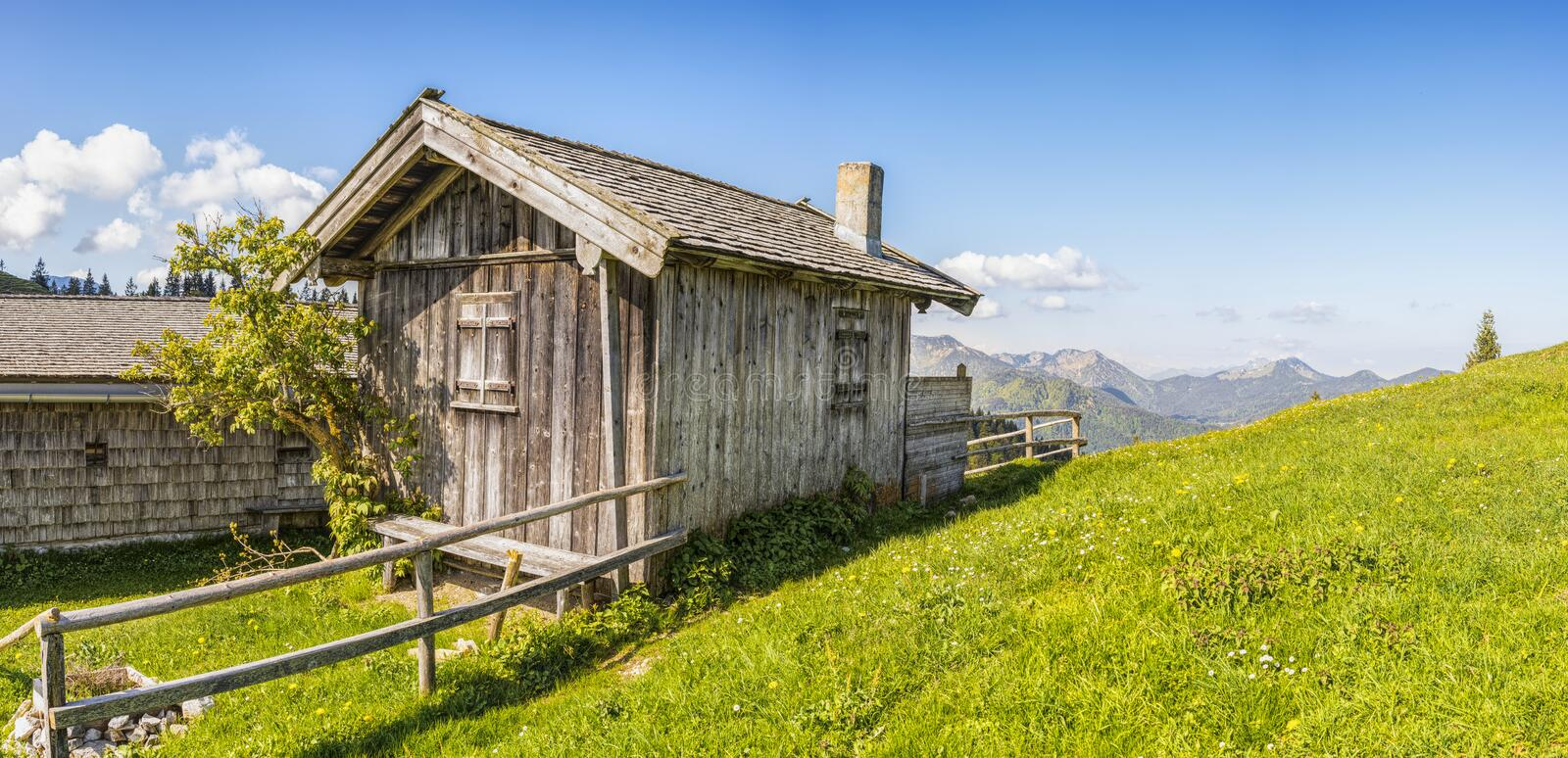 Wooden House at Daytime royalty free stock image