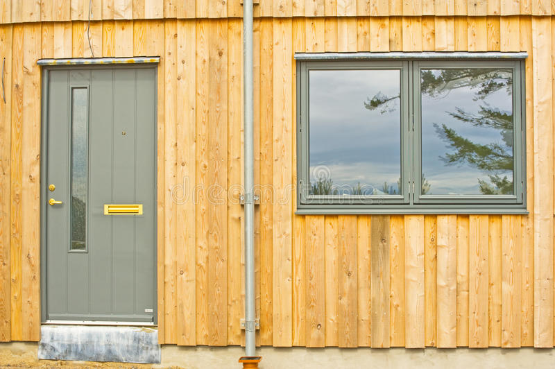 Download Wooden house details. stock image. Image of insulated - 20135399