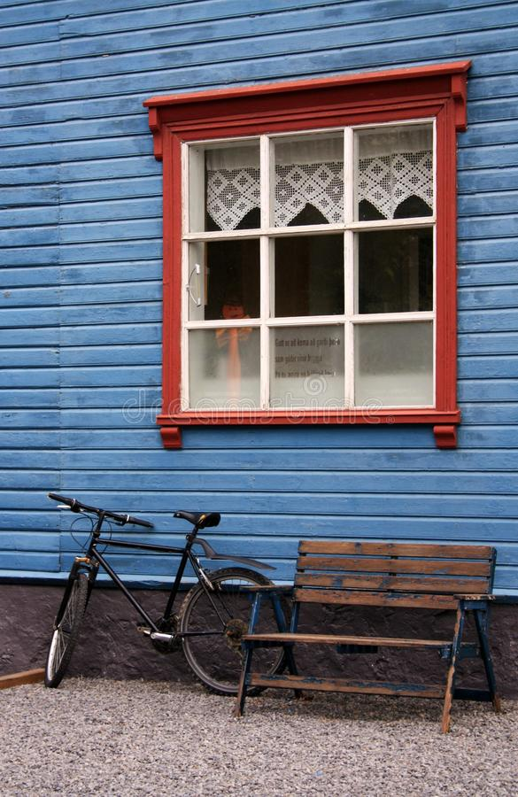 Download Wooden House in Iceland stock photo. Image of holidays - 15752060