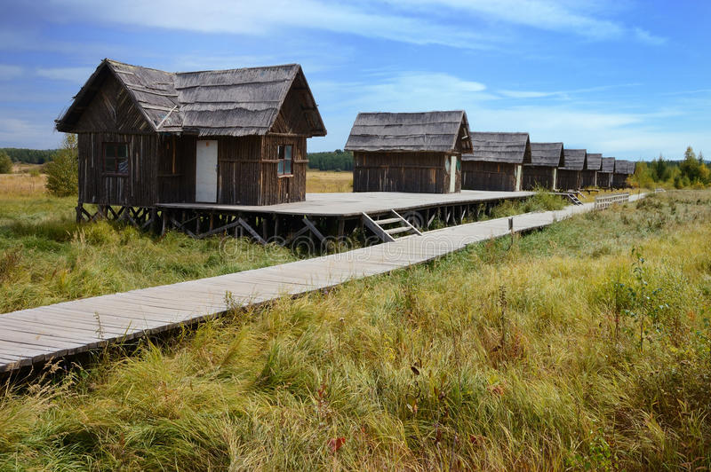 Download Wooden Houses Royalty Free Stock Photography - Image: 24980247