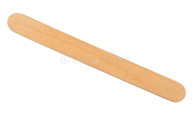 Wooden ice cream stick royalty free stock images