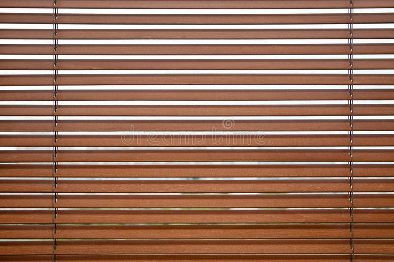 Wooden jalousie stock photos