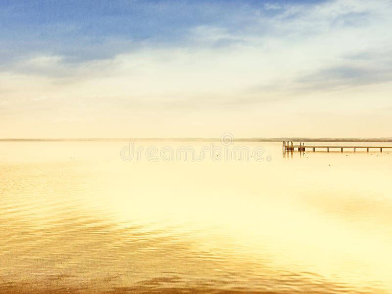 Download Wooden jetty stock image. Image of chiemgau, alps, countryside - 42673199