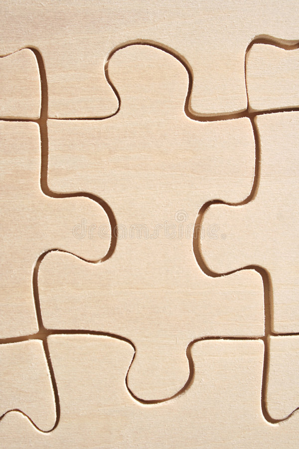 Download Wooden jigsaw close-up stock photo. Image of challenger - 671560