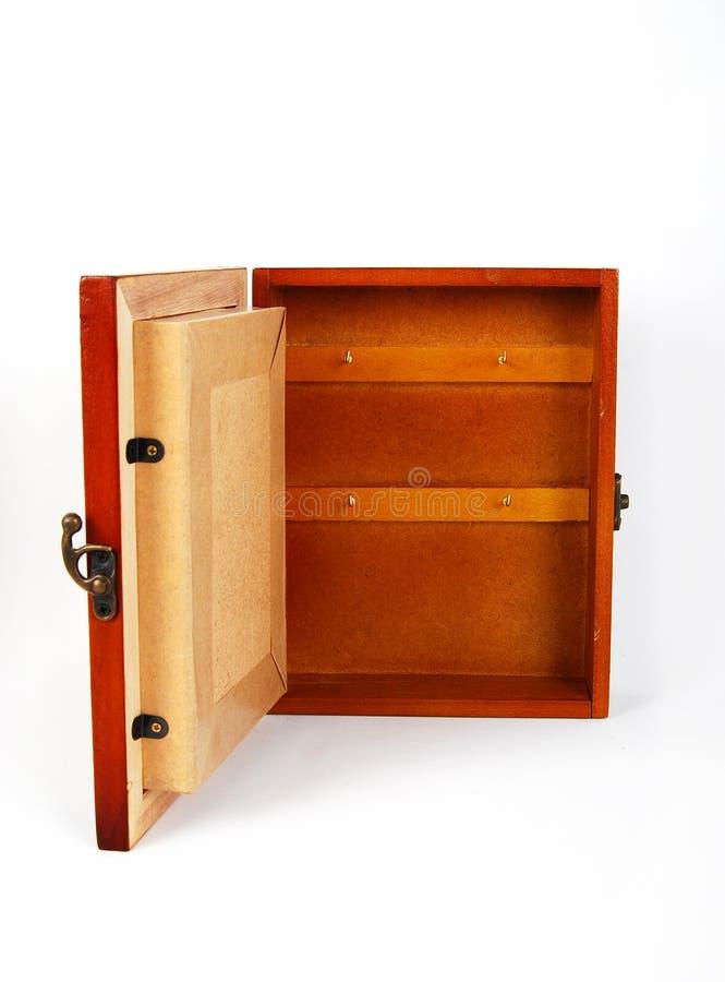 Wooden key holder stock images