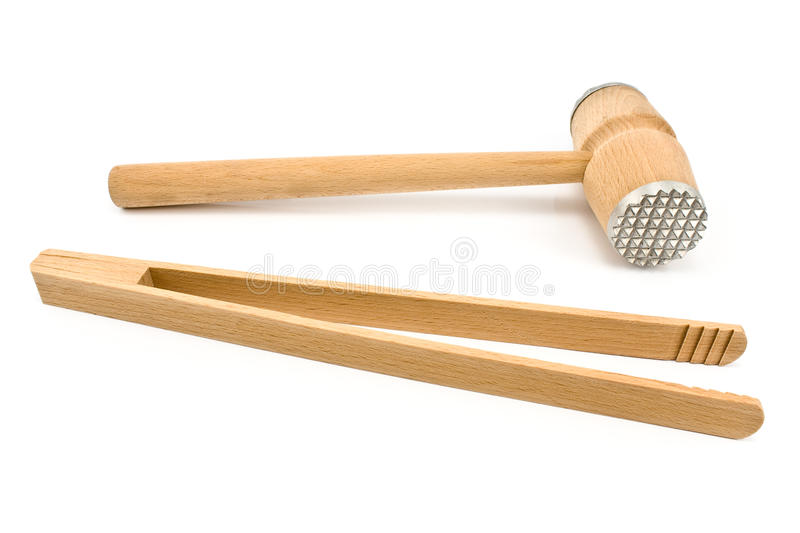 Download Wooden kitchen tools stock photo. Image of appliance - 21374982