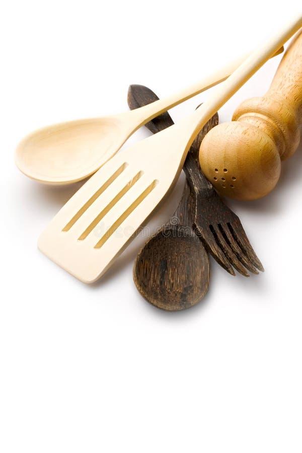Wooden Kitchen-ware Stock Photos