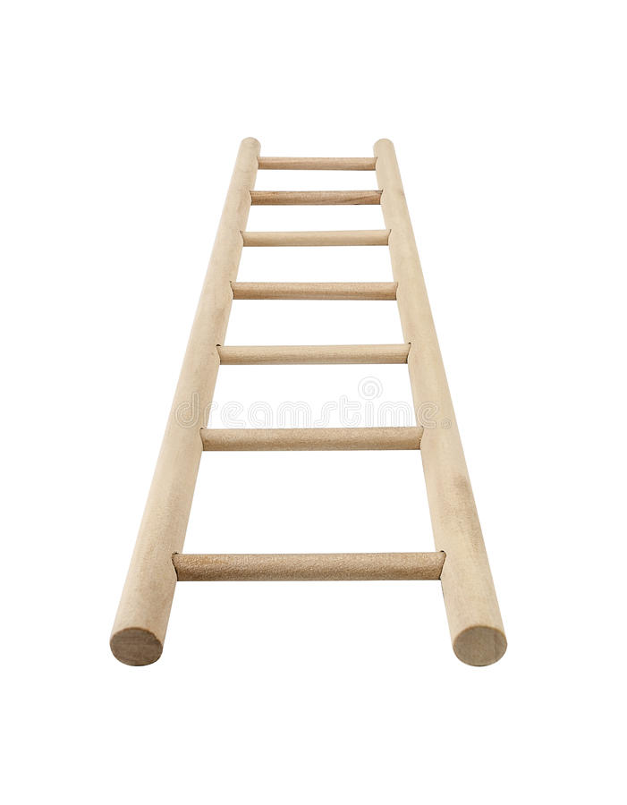 Free Wooden Ladder Stock Image - 46127951