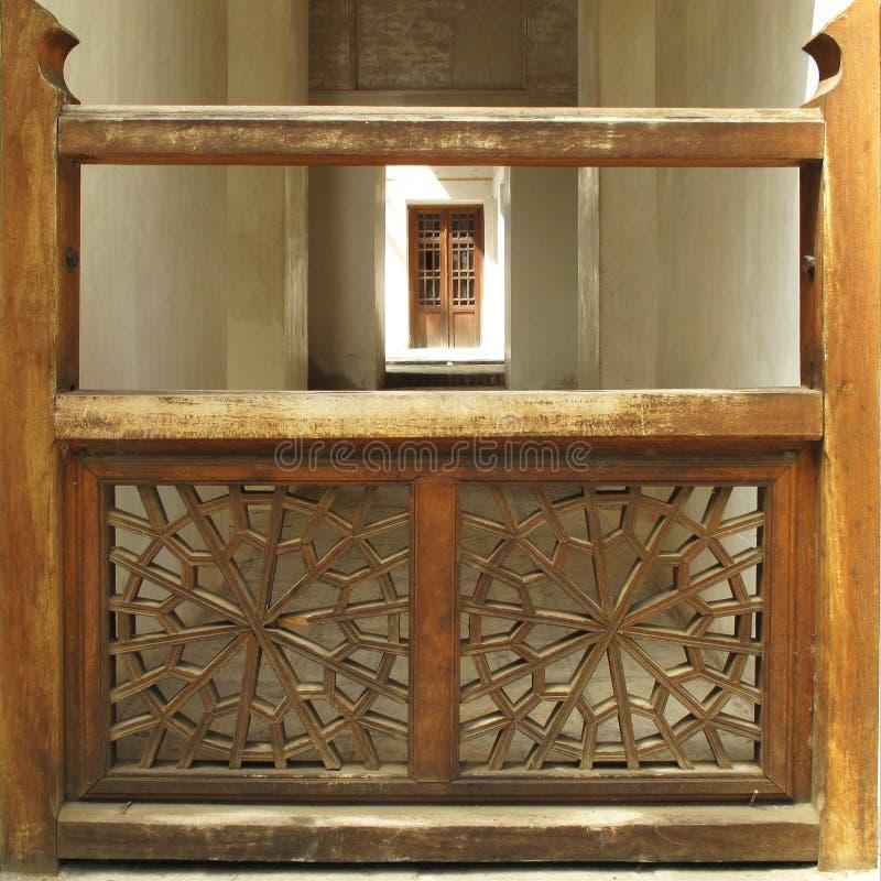 Wooden latticework royalty free stock photography