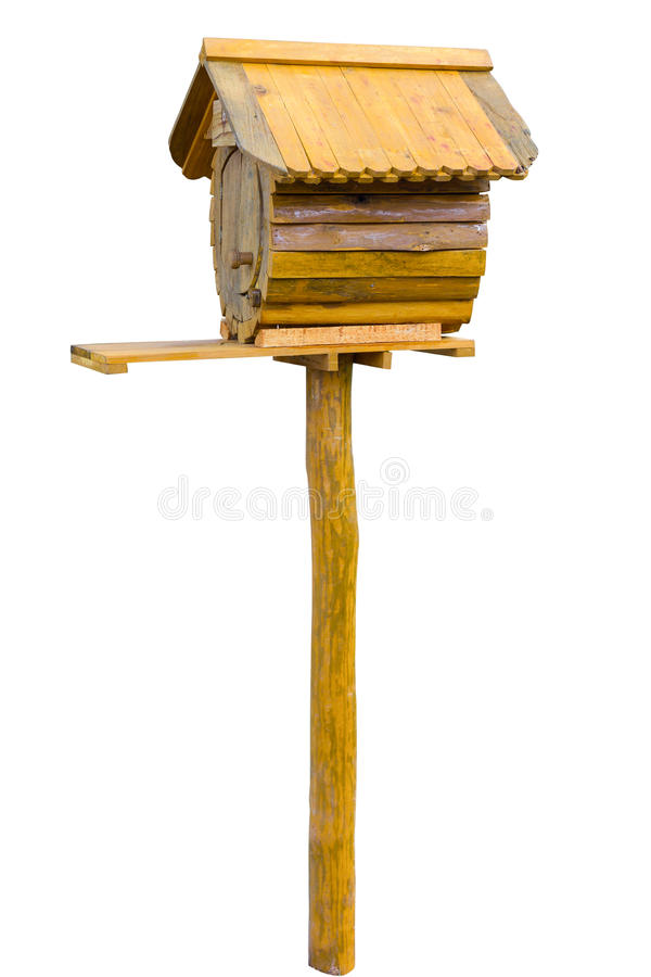 Download Wooden letter box stock image. Image of delivery, bird - 28918003