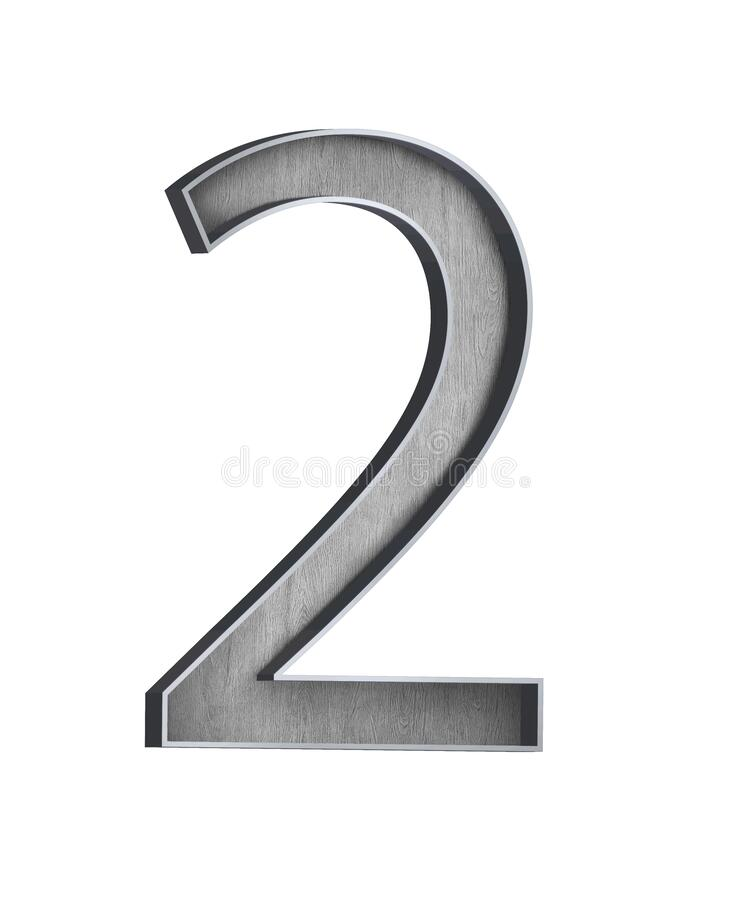 Free Wooden Letter With Metal Outer Frame Letter A To Z,numbers 1 To 10 ILLUSTRATION Royalty Free Stock Photos - 174275408