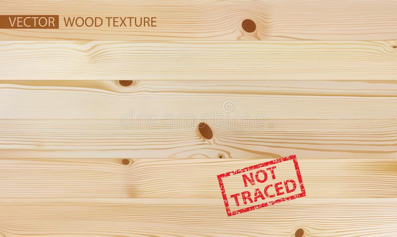 Wooden log with nails isolated with clipping path. Old, weathered wooden log with nails isolated with clipping path included royalty free illustration