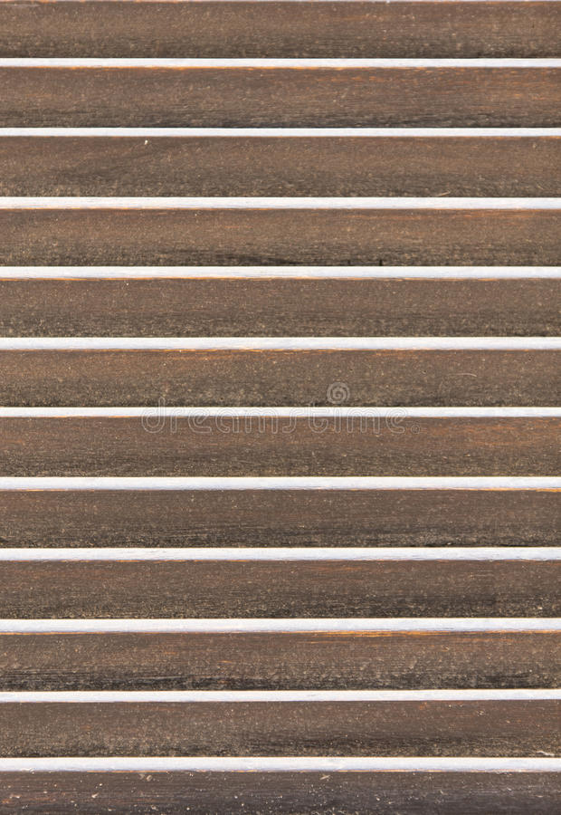 Wooden louvers royalty free stock image