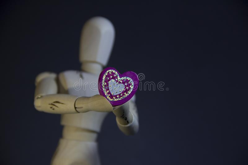I give you a heart royalty free stock image