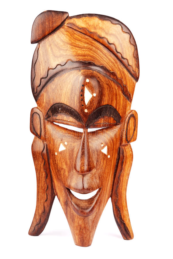 Download Wooden mask stock image. Image of handmade, culture, antique - 17482249