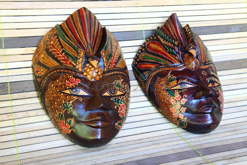 Download Wooden masks stock image. Image of carved, wood, chocolate - 30686331