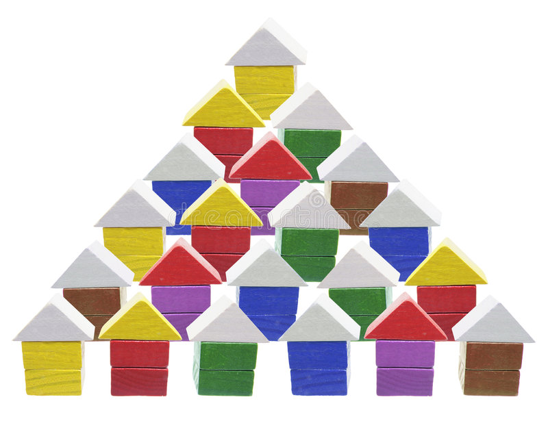 Download Wooden Miniature House Symbols Stock Image - Image: 9211585