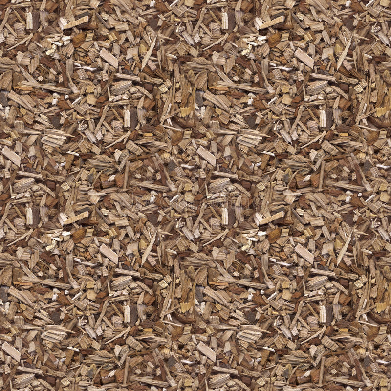 Wooden Mulch Texture royalty free stock photography