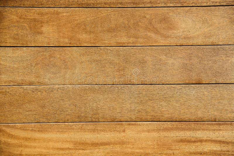 Wooden natural Board for covering the surface of the house brown.Background. stock image
