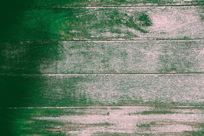 Wooden natural Board for interior and decoration green-gray color stock photography