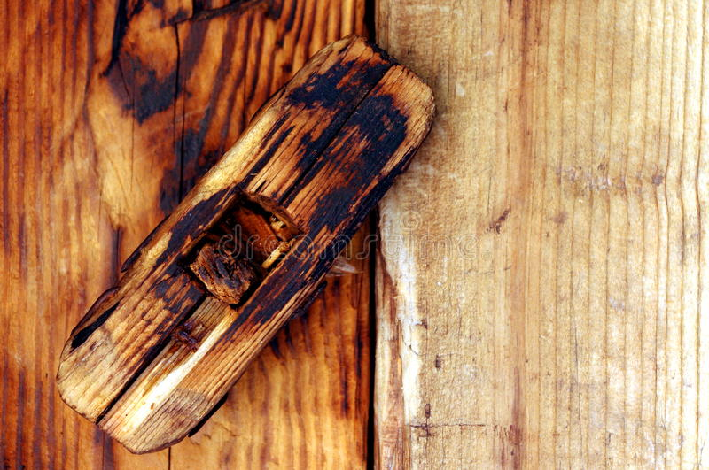 Download Wooden old, antique lock stock image. Image of pattern - 19623527