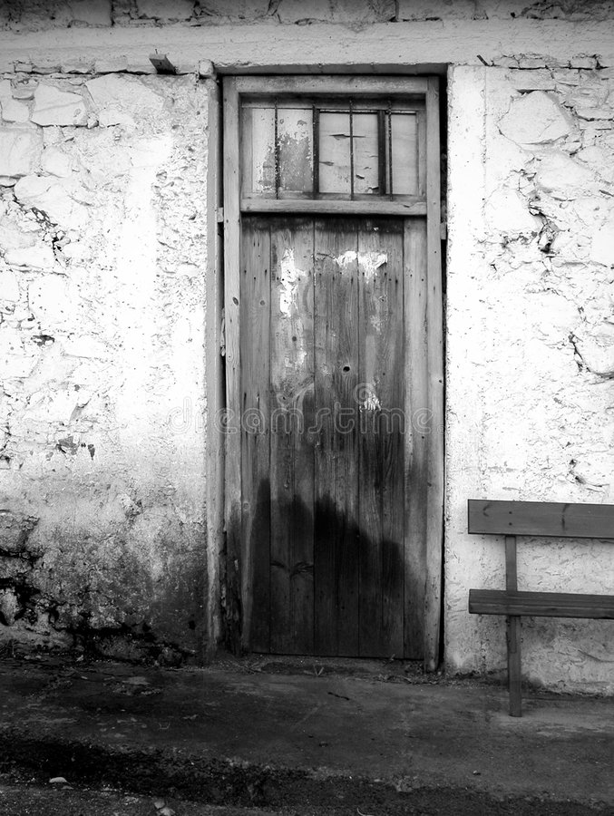 Free Wooden Old Door Royalty Free Stock Images - 7349989