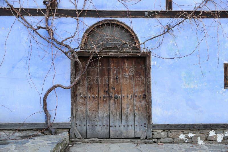 Wooden Old Door royalty free stock image