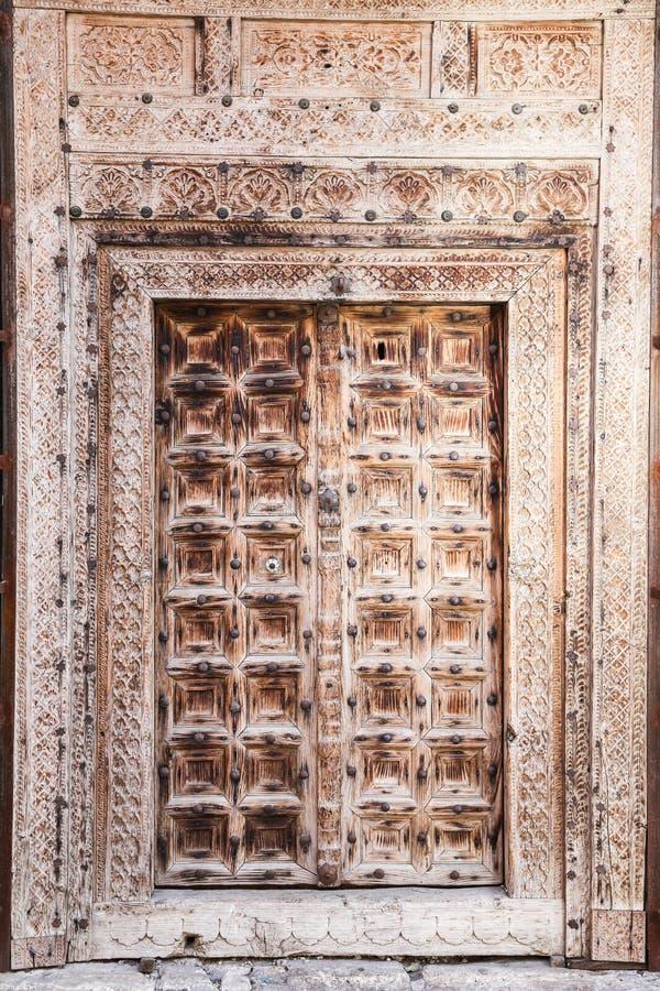 Wooden Old Door royalty free stock photo
