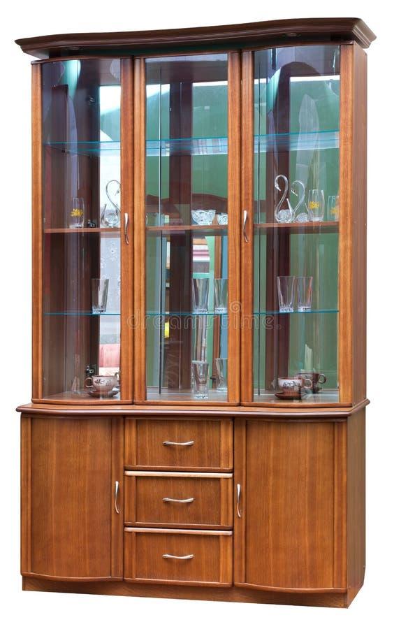 Wooden old stile bureau.
