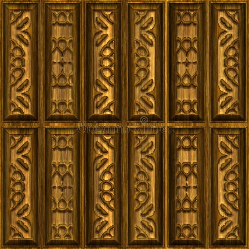 Download Wooden ornaments stock illustration. Illustration of closeup - 14860348