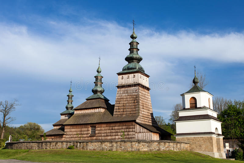 Download Wooden Orthodox Church In Owczary, Poland Stock Photo - Image: 30892632