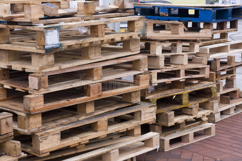 Download Wooden pallets stock image. Image of factory, crate, production - 14146329