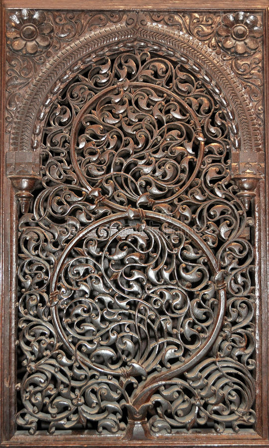 Download Wooden panel stock photo. Image of wooden, ornamental - 25647942