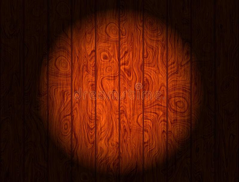 Wooden Panels. Illuminated wooden panels background and texture for print or web usage stock photography