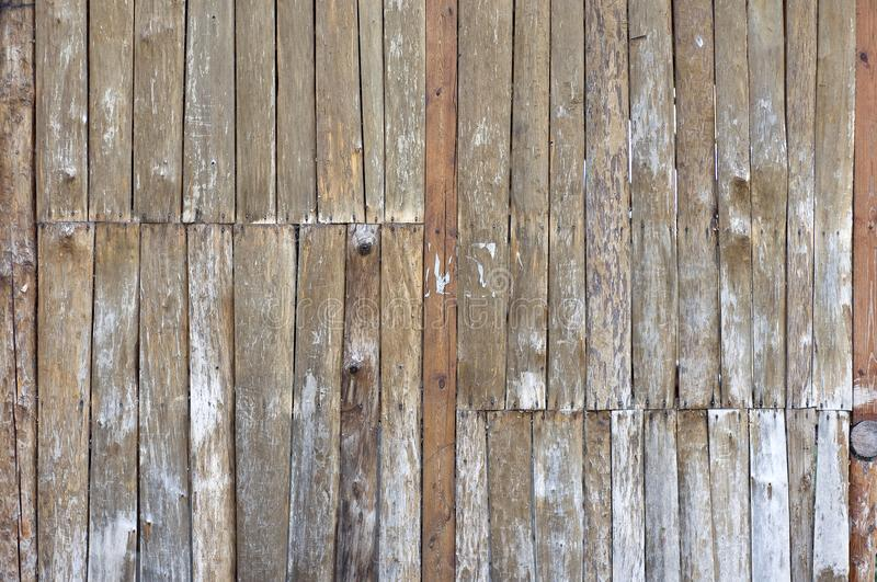 Old wooden panels royalty free stock image
