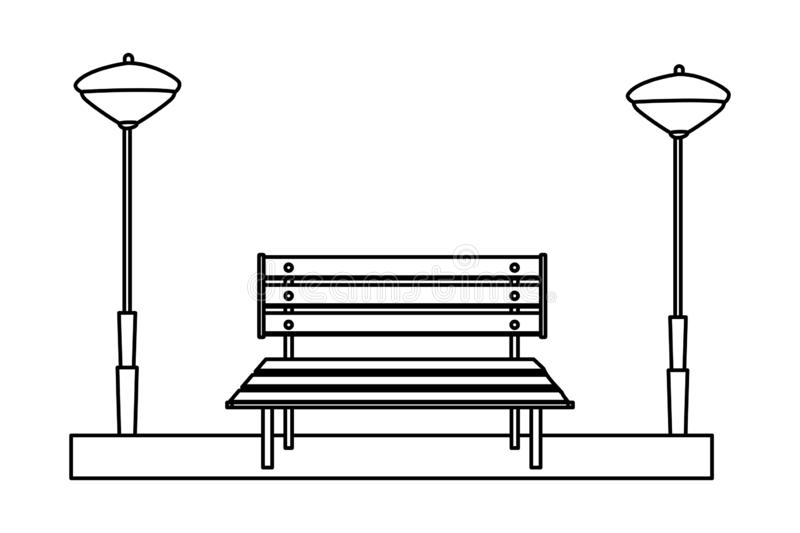 Awe Inspiring White Park Bench Cutout Stock Illustrations 49 White Park Machost Co Dining Chair Design Ideas Machostcouk