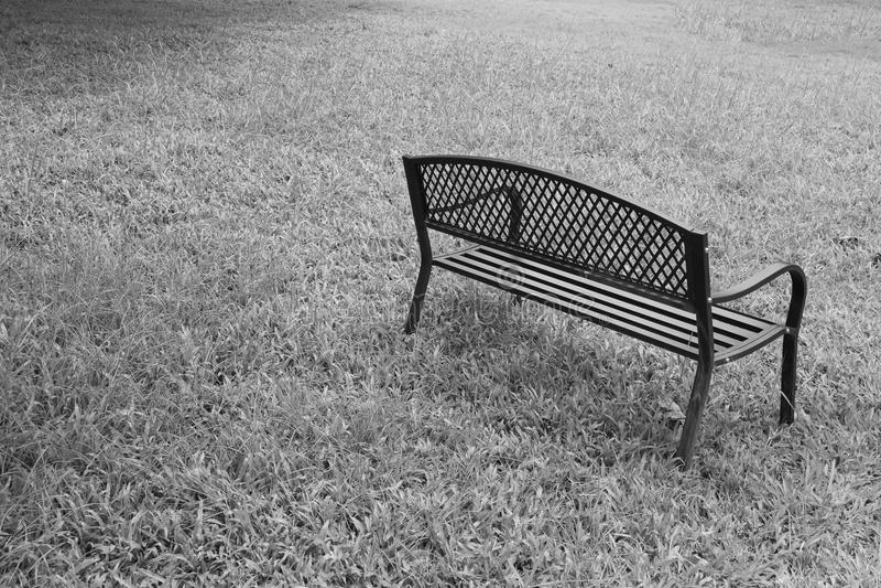wooden park bench at the public park image stock photos