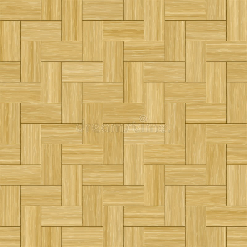 Wooden Parquet Flooring. Smooth Wood Parquet Clean Floor Tiles Background vector illustration