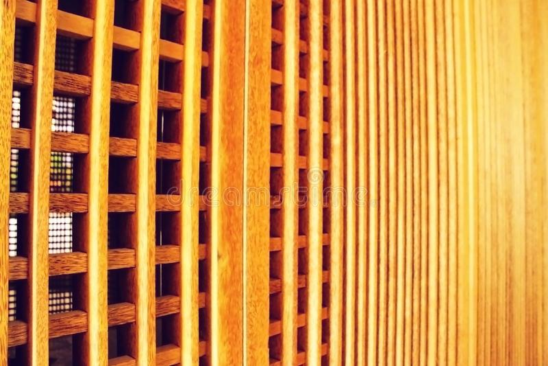 Wooden Partition stock photos