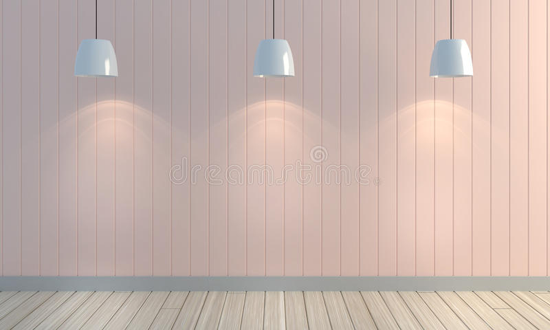 Wooden Pastel Color Wall Background. Stock Photo