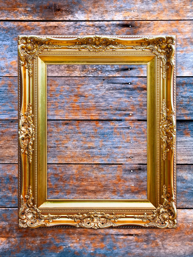 Download Wooden Photo Frame. Royalty Free Stock Images - Image: 26627569