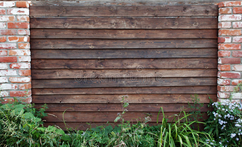 Download Wooden picket fence stock photo. Image of gate, abstract - 34044156