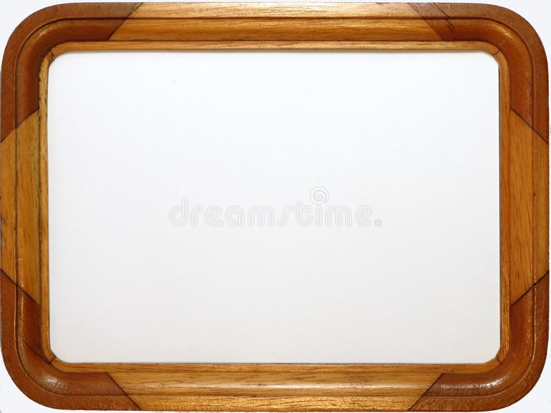 Download Wooden Picture Frame stock image. Image of border, isolated - 14929947