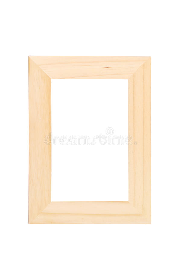 Download Wooden picture frame stock image. Image of isolated, modern - 15972795