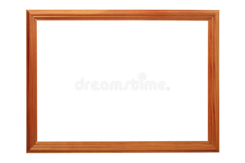 Download Wooden picture frame stock photo. Image of wood, space - 17965570