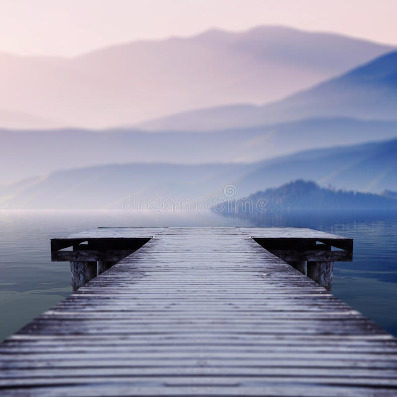 Free Wooden Pier Stock Photography - 79234582
