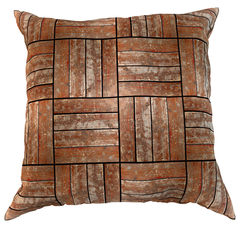Download Wooden pillow stock photo. Image of comfortable, texture - 22129244