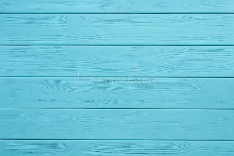 Wooden board painted blue stock photography