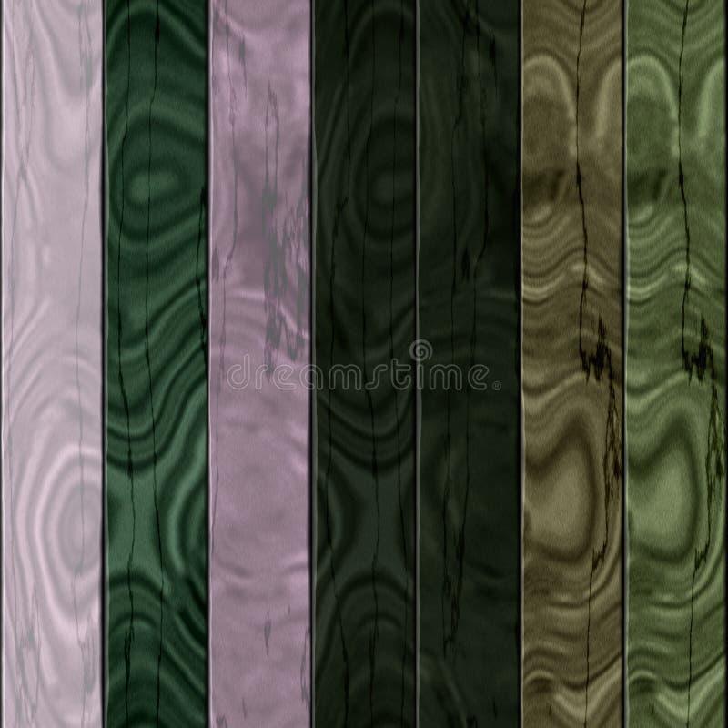 Wooden planks texture - Seamless colorful digitally rendered fractal pattern. Wooden planks dark texture - Seamless colorful digitally rendered fractal pattern stock illustration