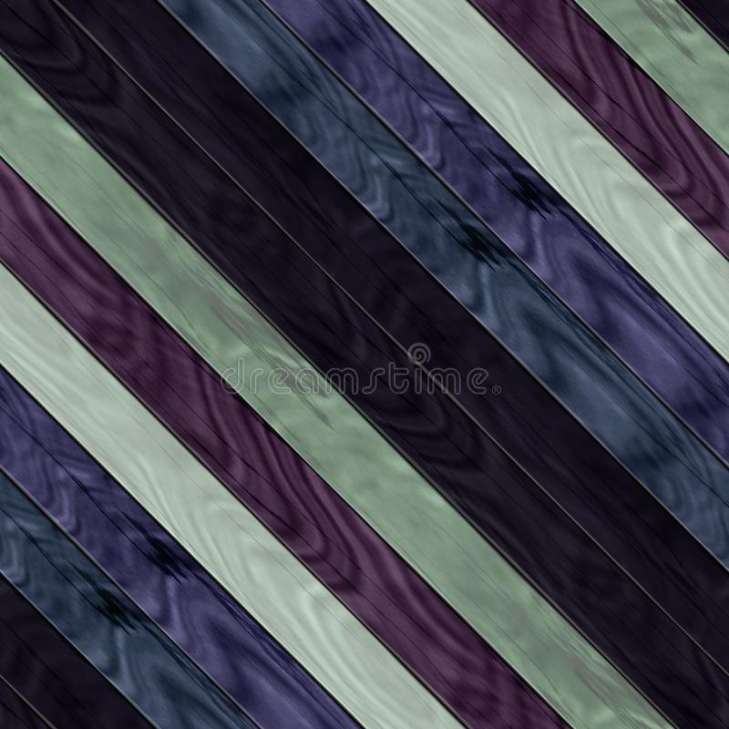 Wooden planks texture - Seamless colorful digitally rendered fractal pattern. Wooden planks dark texture - Seamless colorful digitally rendered fractal pattern royalty free illustration